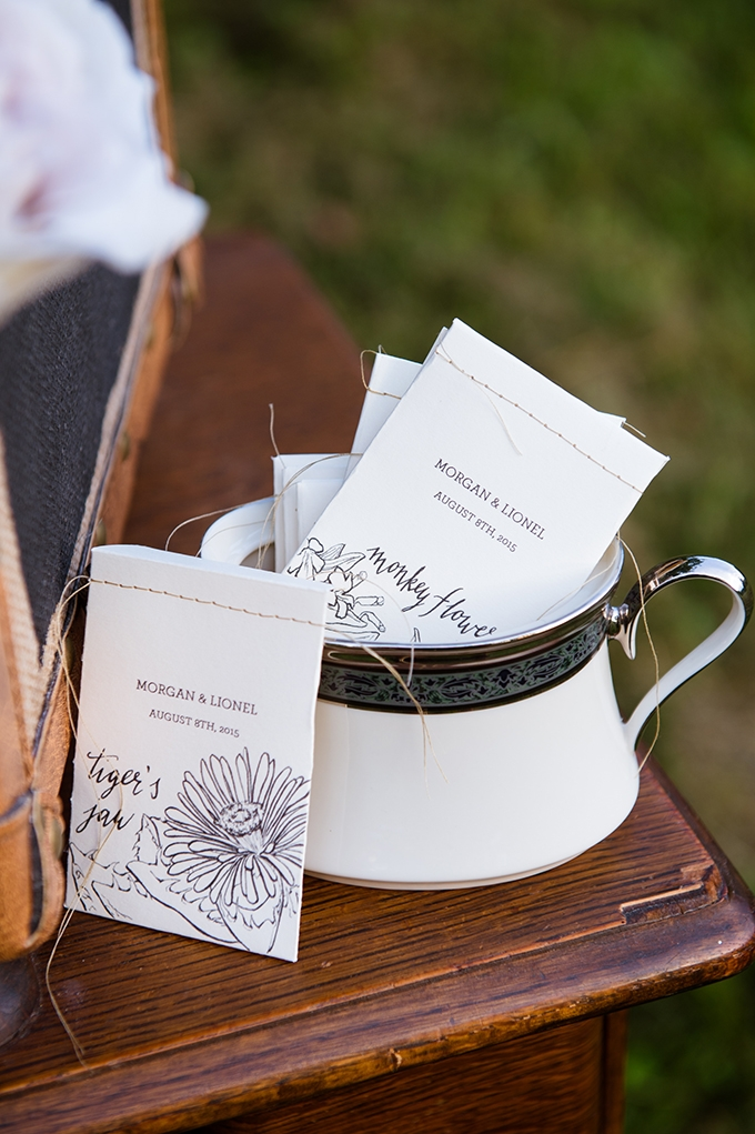 tea favors | Traci J. Brooks Studios | Glamour & Grace