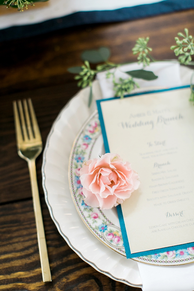 place setting | Amy Nicole Photography | Glamour & Grace
