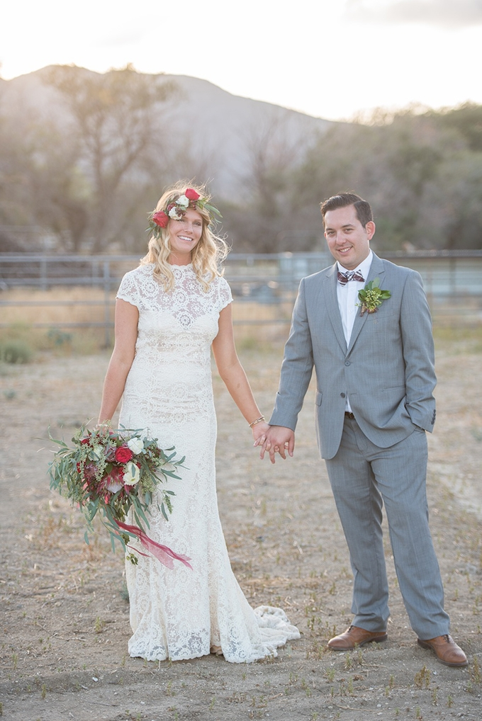 boho cherry orchard wedding | Megan Hayes Photography | Glamour & Grace