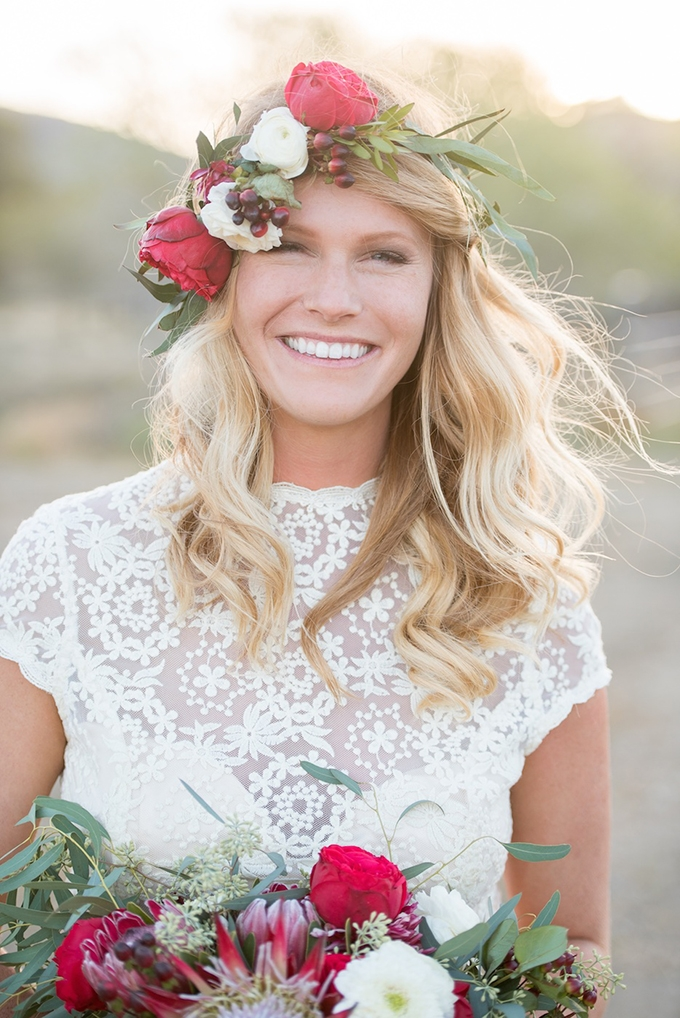 boho bride | Megan Hayes Photography | Glamour & Grace