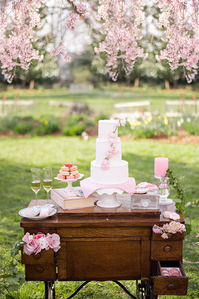 Cherry Blossom Wedding Inspiration Glamour Amp Grace
