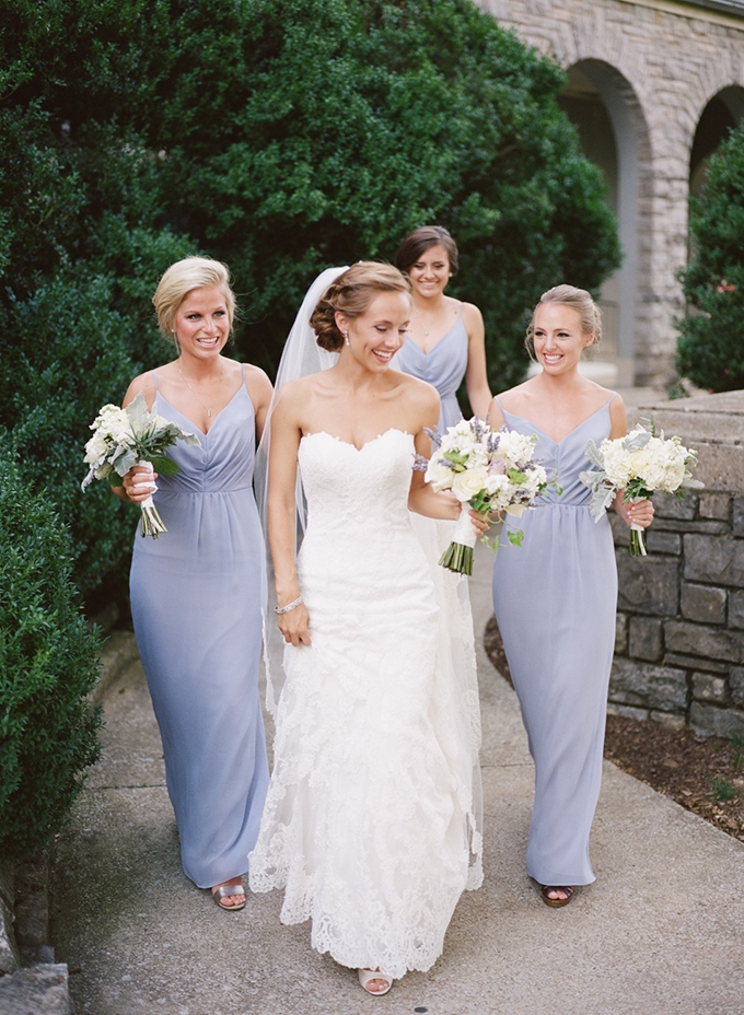 lilac bridesmaids | Archetype Studio Inc. | Glamour & Grace