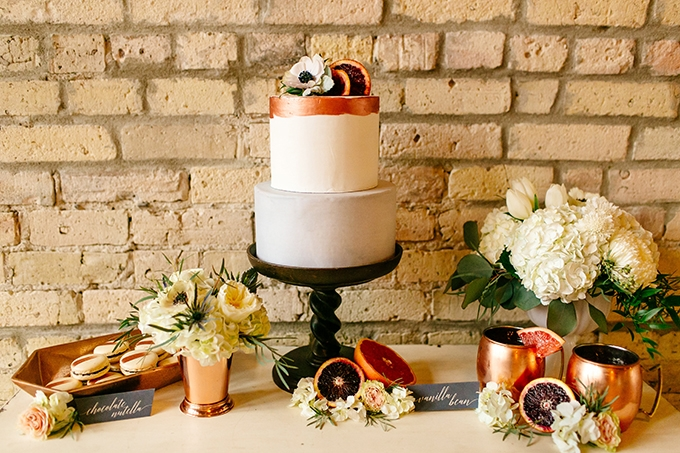 organic citrus wedding inspiration | Leah Fontaine Photography | Glamour & Grace