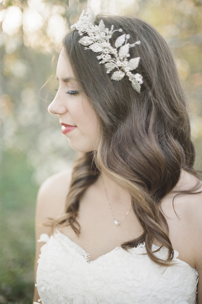 bridal crown | Christine Gosch | Glamour & Grace