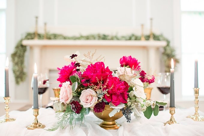 romantic elegance wedding inspiration | Amber Hatley Photography | Glamour & Grace