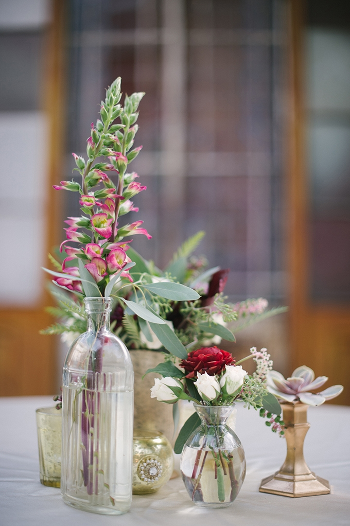 eclectic fall centerpieces | Lauren Carroll Photography | Glamour & Grace