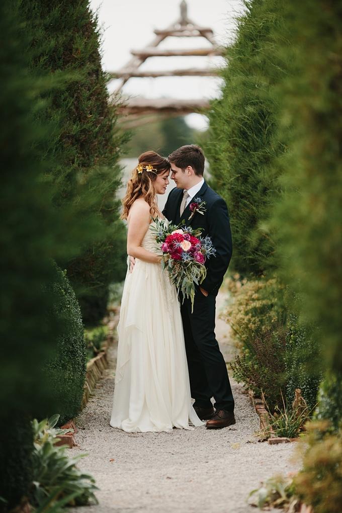 romantic garden wedding | Q Avenue | Glamour & Grace
