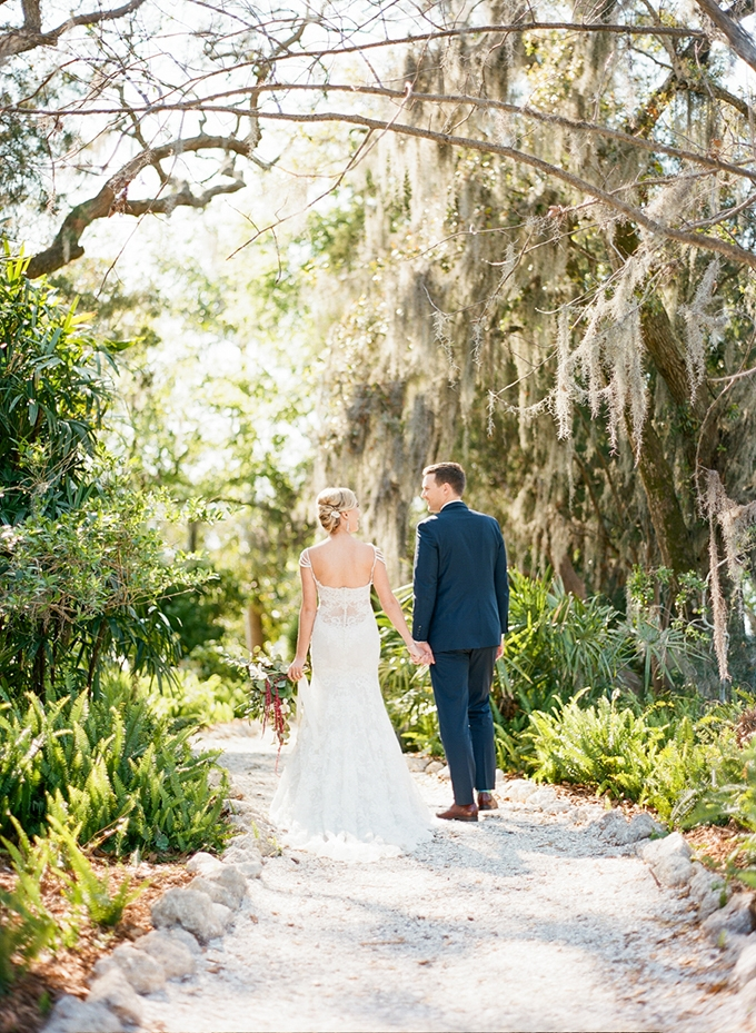 Florida vintage garden wedding inspiration | Emily Katharine Photography | Glamour & Grace