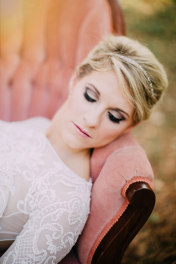romantic glam bridal portraits | Endless Exposures Photography | Glamour & Grace