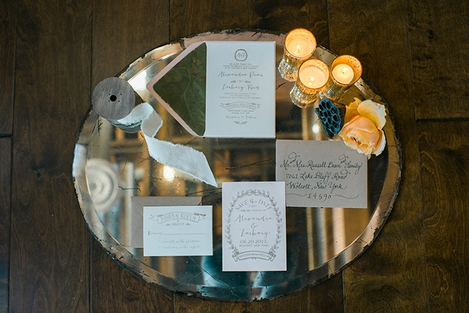 romantic loft wedding inspiration | Alexandra Elise Photography | Glamour & Grace