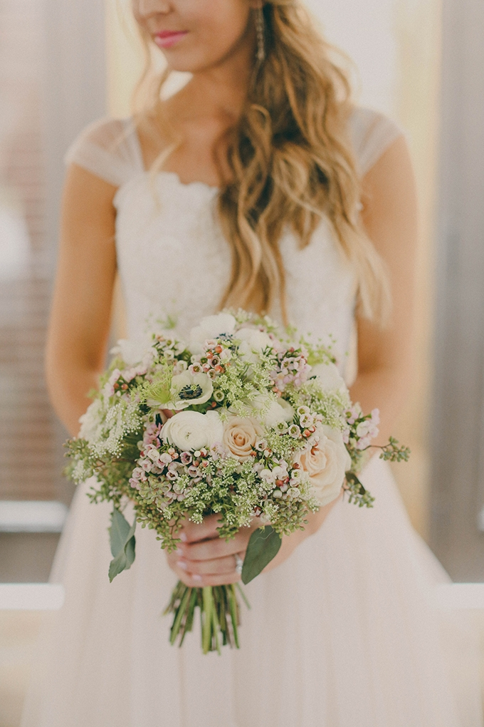 romantic bouquet | j.woodbery photography | Glamour & Grace