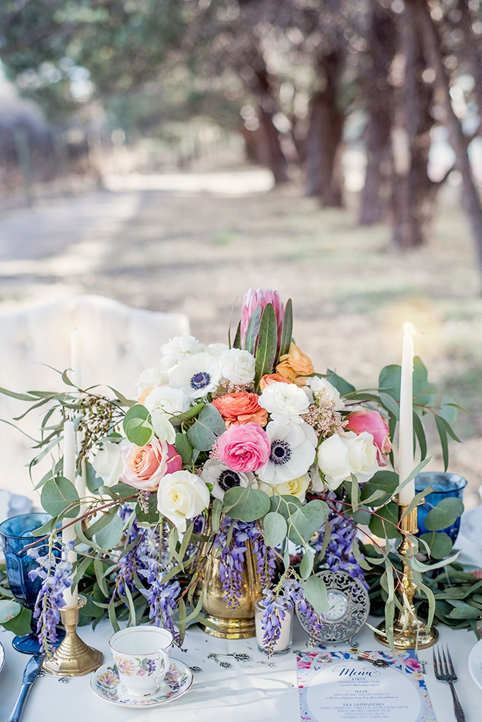 Alice in Wonderland wedding inspiration   Maura Jane Photography   Glamour & Grace