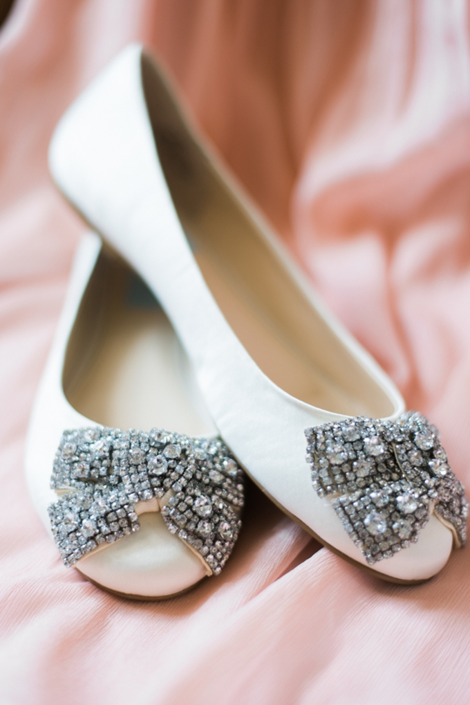 sparkle bow flats | Henry Photography | Glamour & Grace