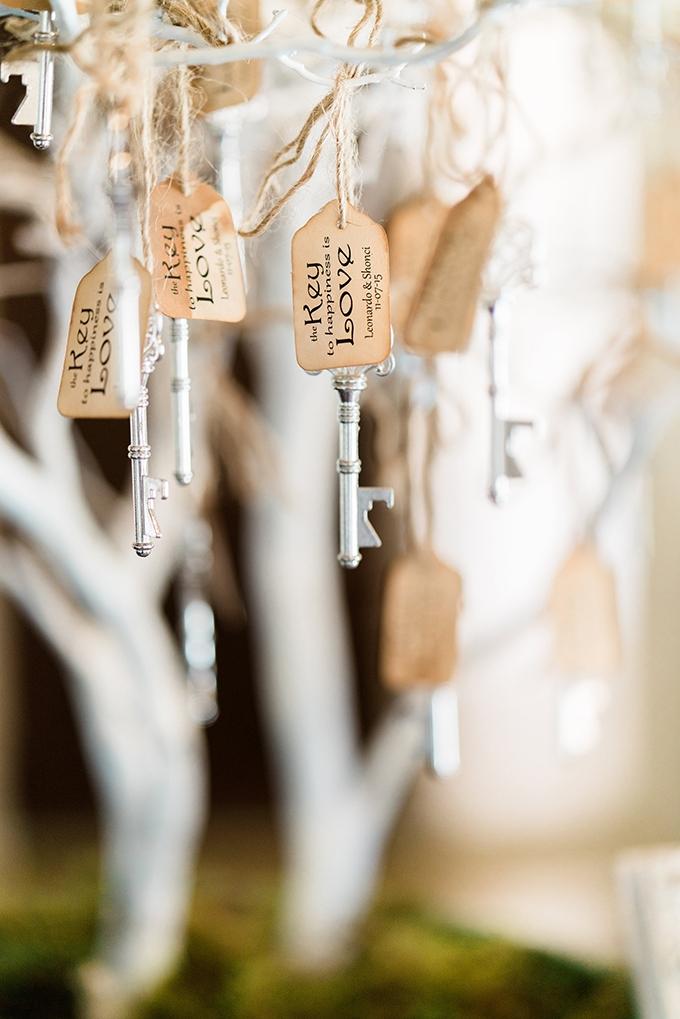 key escort cards | Dan & Erin PhotoCinema | Glamour & Grace