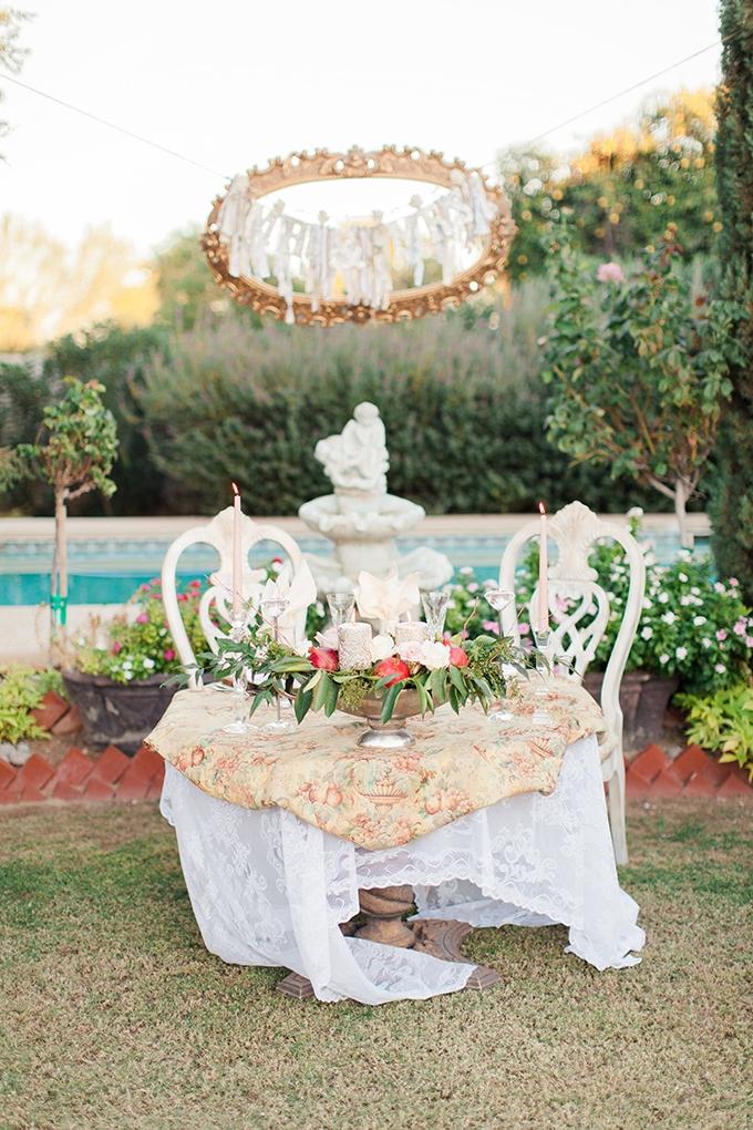 romantic sweetheart table | Dan & Erin PhotoCinema | Glamour & Grace