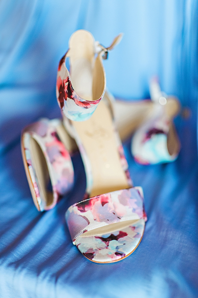 floral heels | Candace Berry Photography | Glamour & Grace