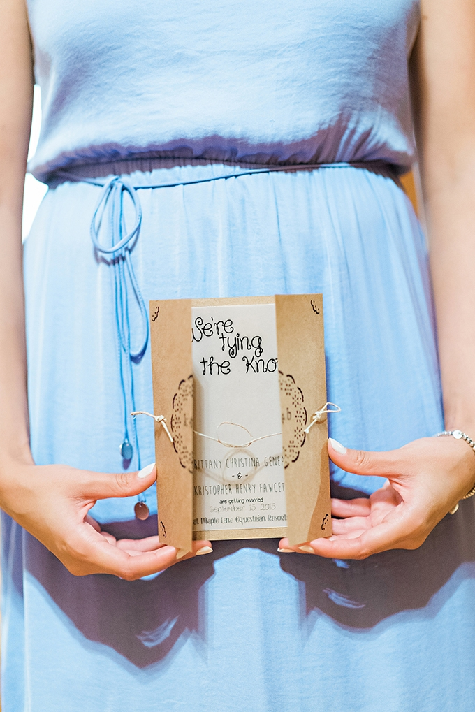 tying the knot invitation | Candace Berry Photography | Glamour & Grace