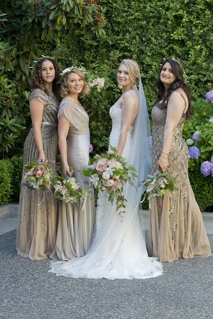 Romantic Literary Wedding Glamour Grace