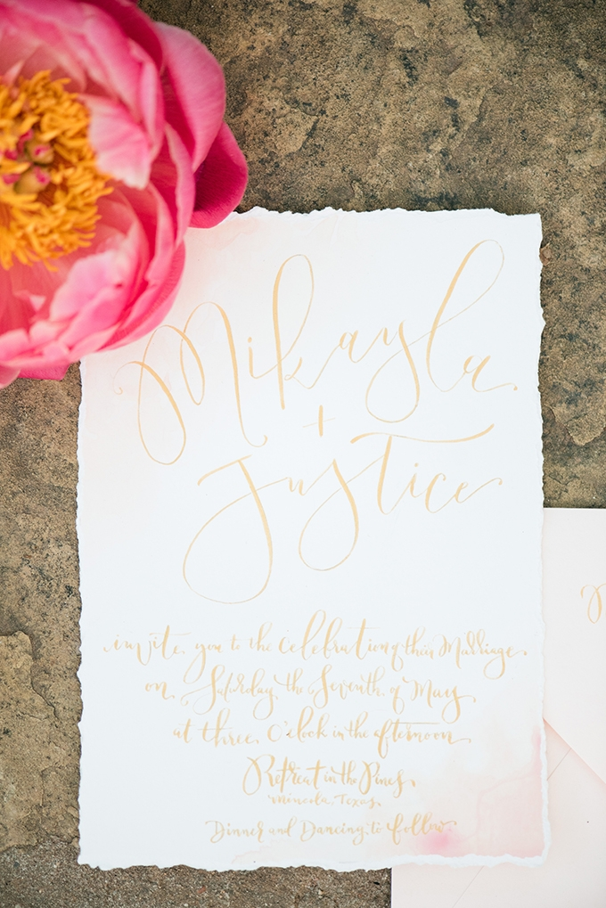 romantic peony wedding inspiration | Lori Lynn Photography | Glamour & Grace