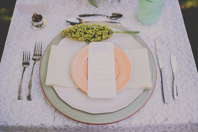 vintage pastel wedding inspiration | Hourglass Imaging | Glamour & Grace
