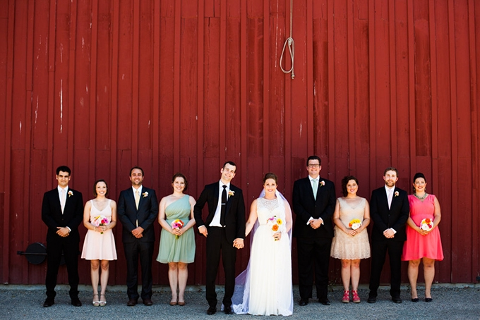DIY barn wedding | Cicarrelli Photography | Glamour & Grace