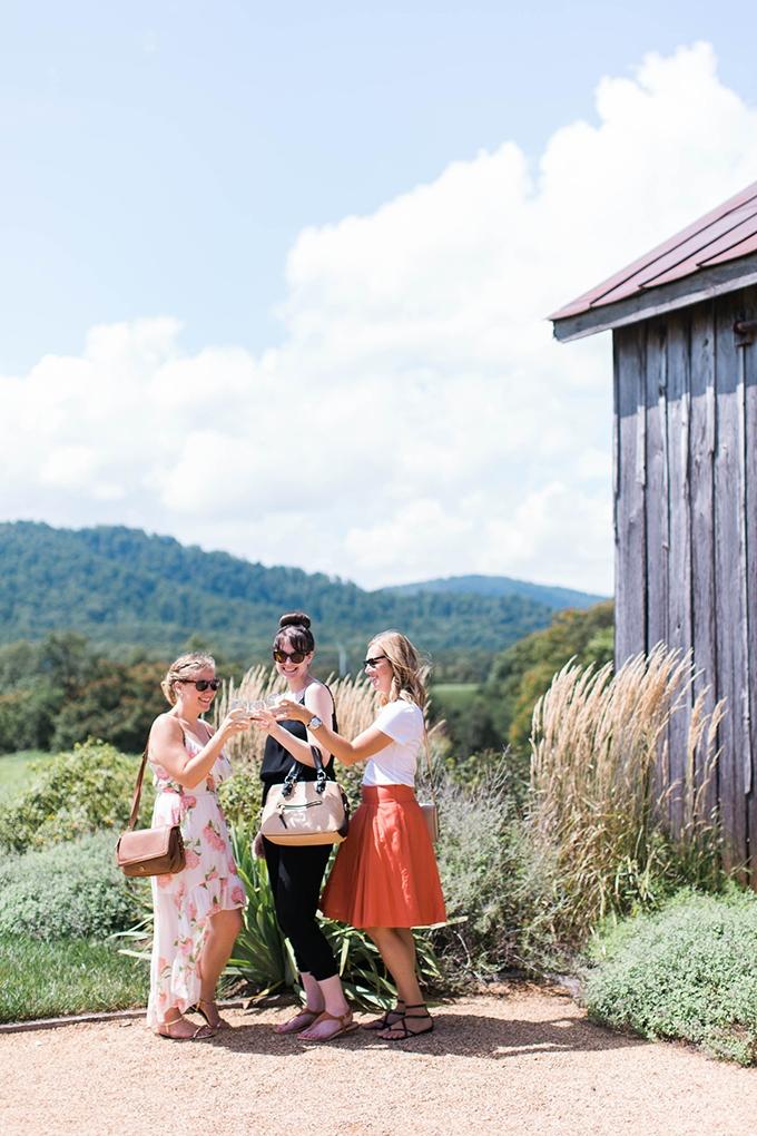 girl's glamping getaway | Nikki Santerre | Glamour & Grace