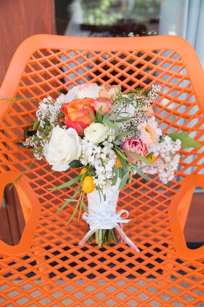 citrus bouquet   Peterson Design & Photography   Glamour & Grace
