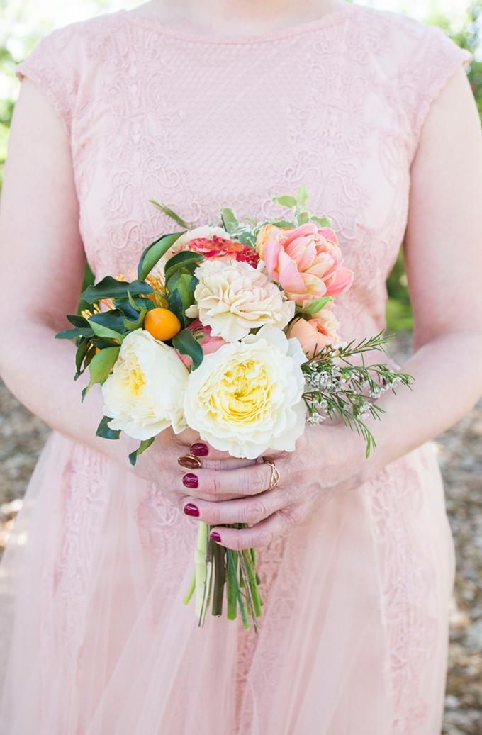 handmade citrus wedding | Peterson Design & Photography | Glamour & Grace