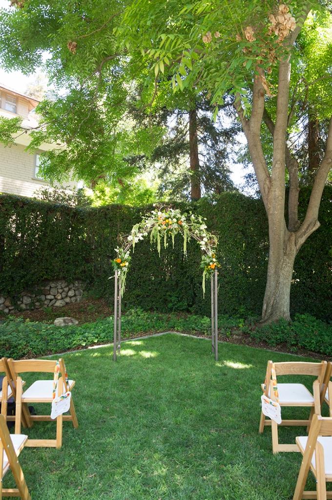 handmade citrus wedding   Peterson Design & Photography   Glamour & Grace