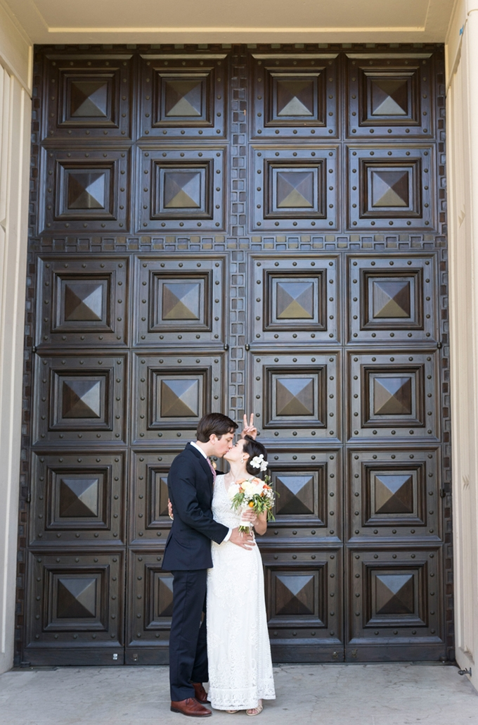 handmade citrus themed wedding   Peterson Design & Photography   Glamour & Grace