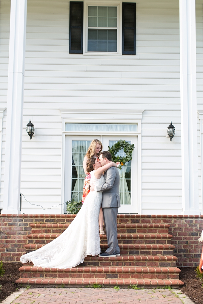 orange spring wedding | Jessica Ryan Photography | Glamour & Grace