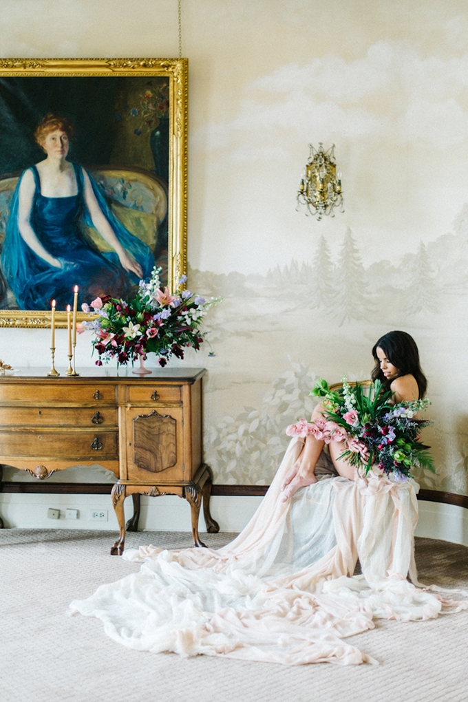 dreamy bridal portraits | Emily Sacco Photography | Glamour & Grace