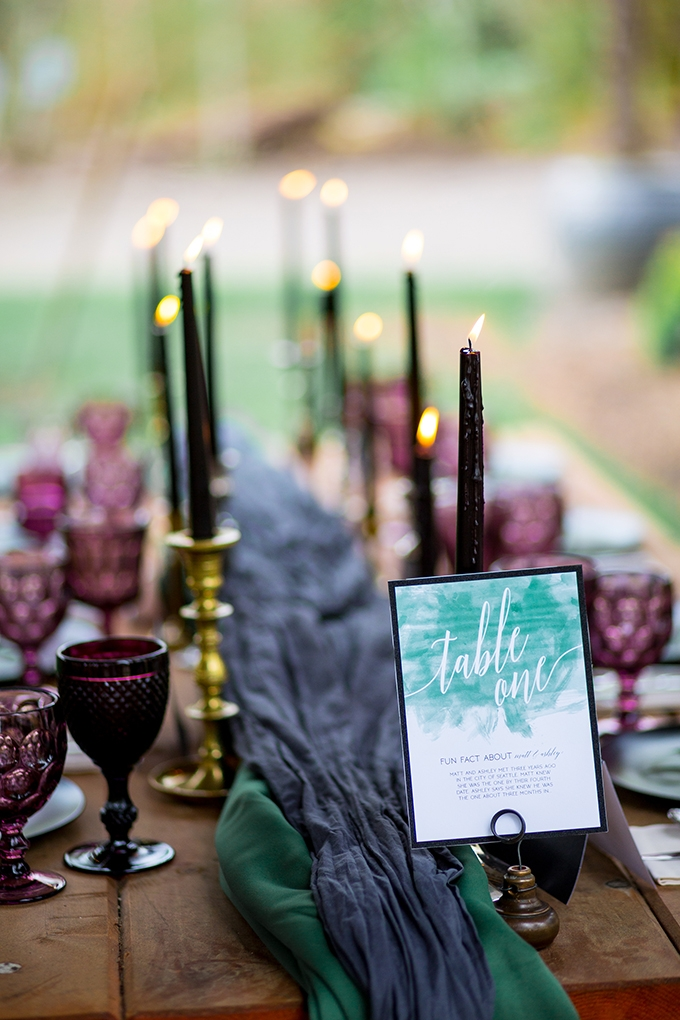 Jewel tone garden wedding inspiration glamour grace - What are jewel tones ...