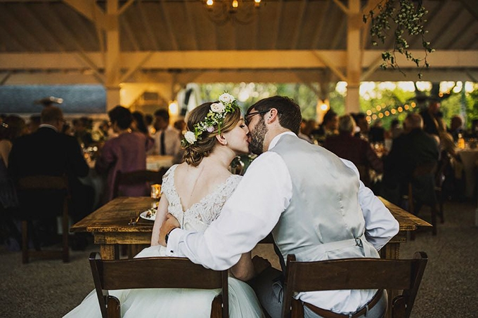 organic vintage wedding | Ariel Renae Photo | Glamour & Grace