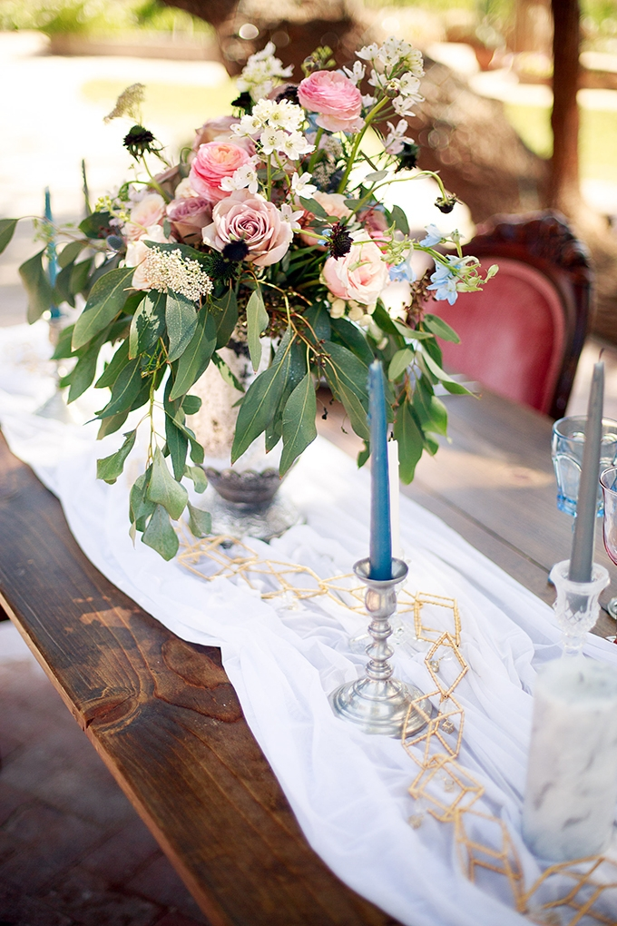 romantic vintage wedding inspiration | Anna Phillips Photography | Glamour & Grace