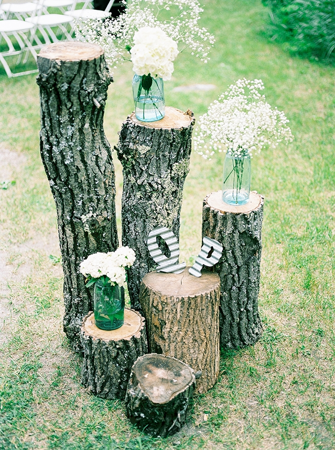 DIY rustic wedding | Karen Ann Photography | Glamour & Grace