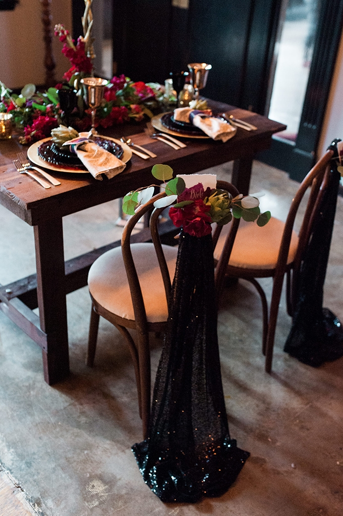 dark and moody wedding inspiration | Briana Morrison Photography | Glamour & Grace