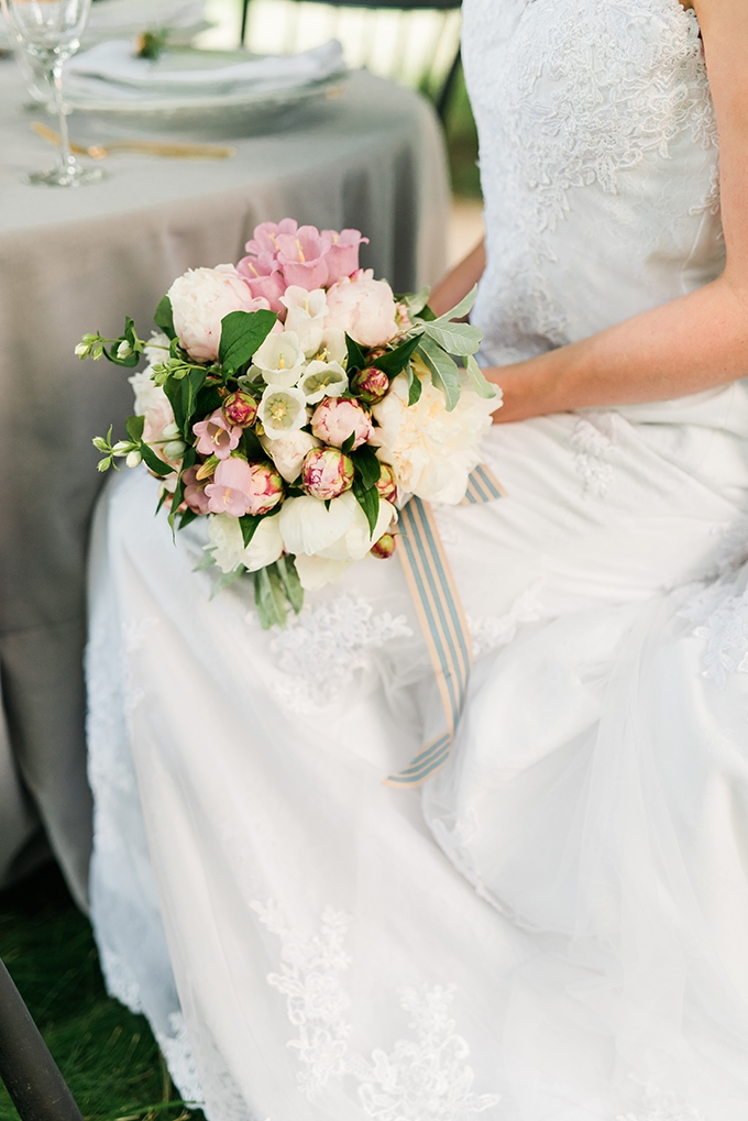modern romantic garden wedding inspiration | Kathryn Ivy Photography | Glamour & Grace