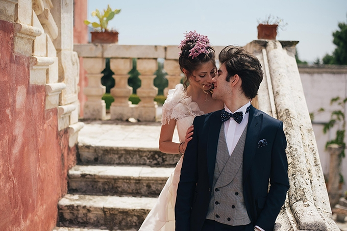 romantic Italian wedding inspiration | Andrea Antohi | Glamour & Grace