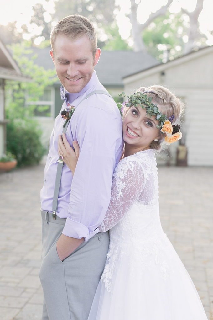 romantic lavender wedding inspiration | Carrie Vines Photography | Glamour & Grace