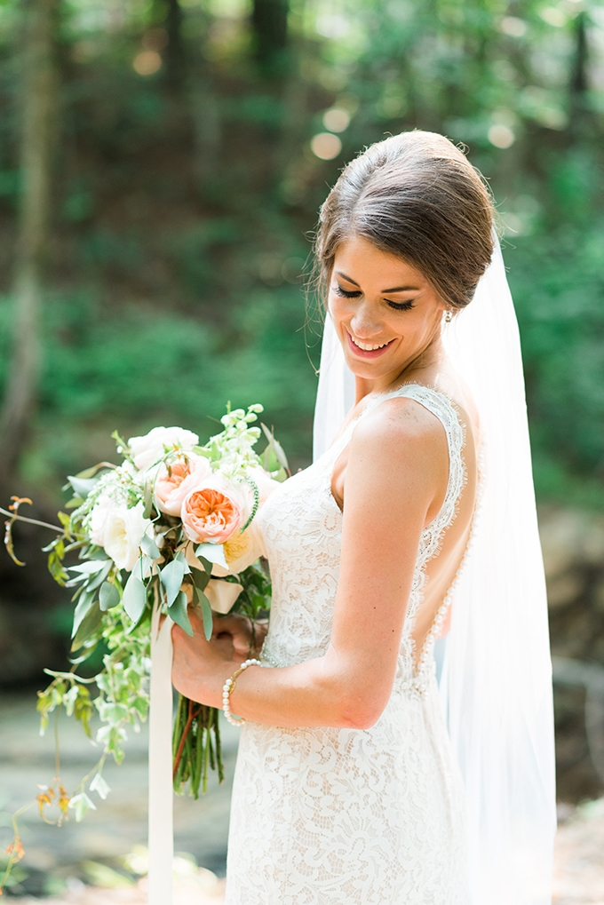 elegant cliffside Southern wedding | Cotton & Clover Photography | Glamour & Grace-10