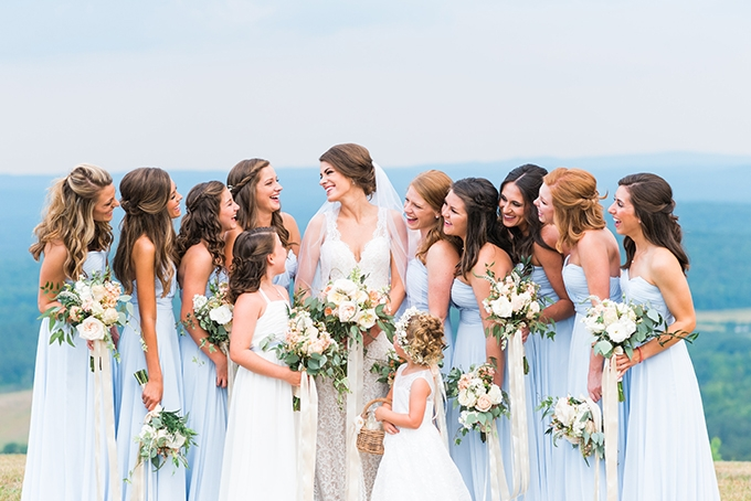 elegant cliffside Southern wedding | Cotton & Clover Photography | Glamour & Grace-11