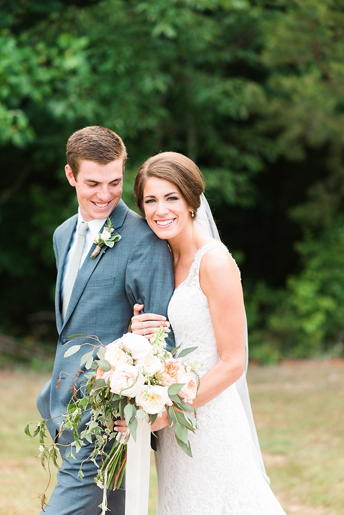 elegant cliffside Southern wedding | Cotton & Clover Photography | Glamour & Grace-32
