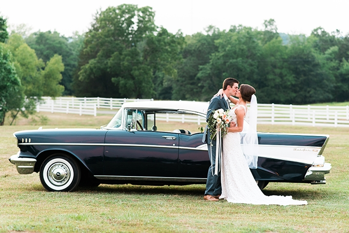 elegant cliffside Southern wedding | Cotton & Clover Photography | Glamour & Grace-36