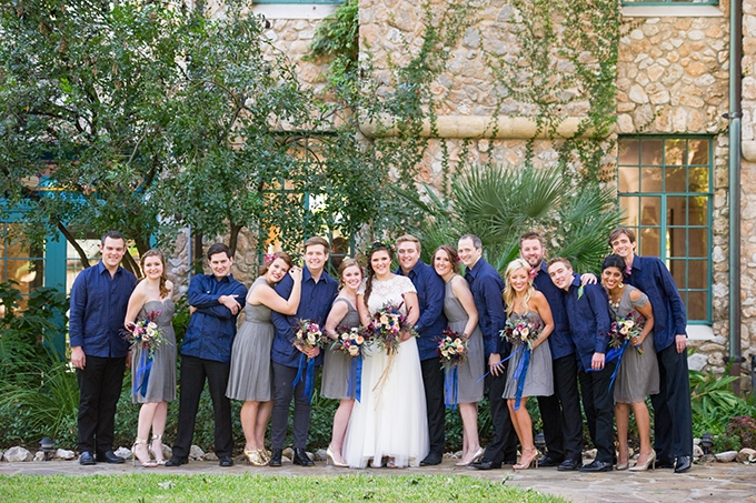 jeweltone garden wedding | Miranda Laine Photography | Glamour & Grace