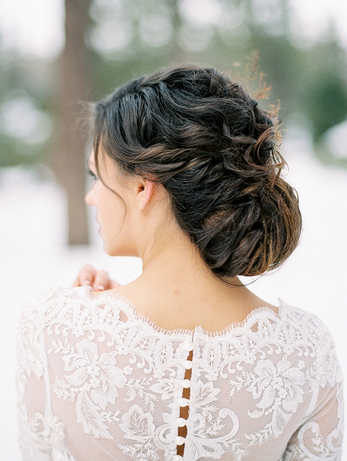 romantic updo | Jeremy Chou Photography | Glamour & Grace