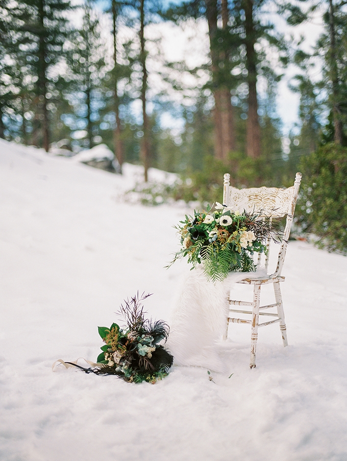 snowy winter bridal session | Jeremy Chou Photography | Glamour & Grace