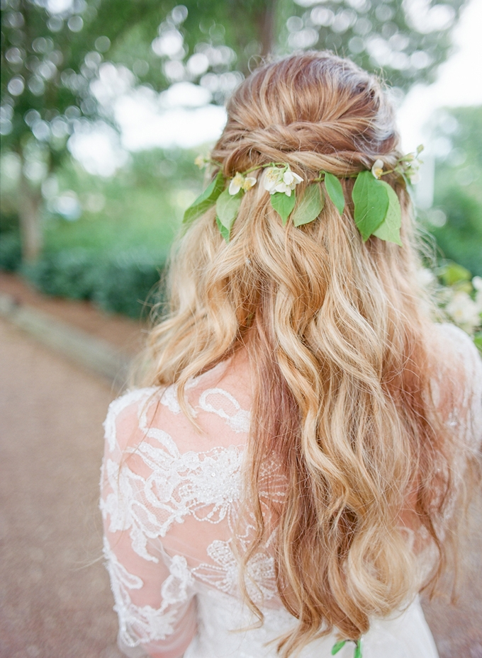 vine wrapped hair | Lotus Blossom Photography | Glamour & Grace