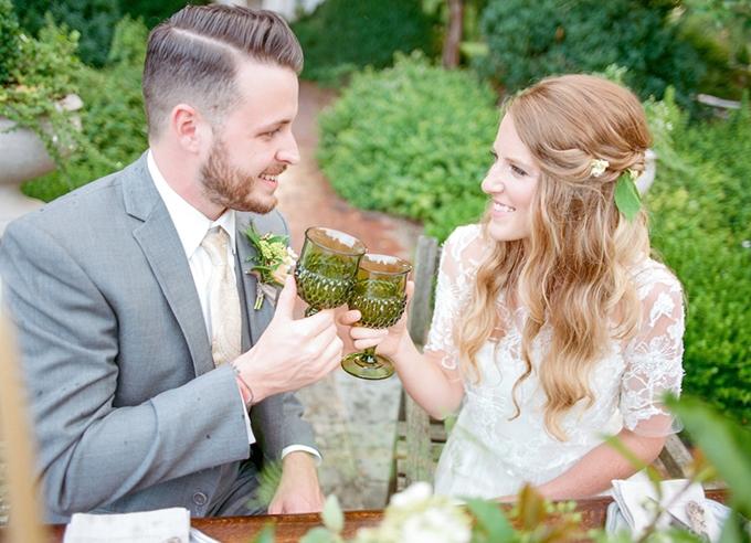 The Secret Garden wedding inspiration | Lotus Blossom Photography | Glamour & Grace