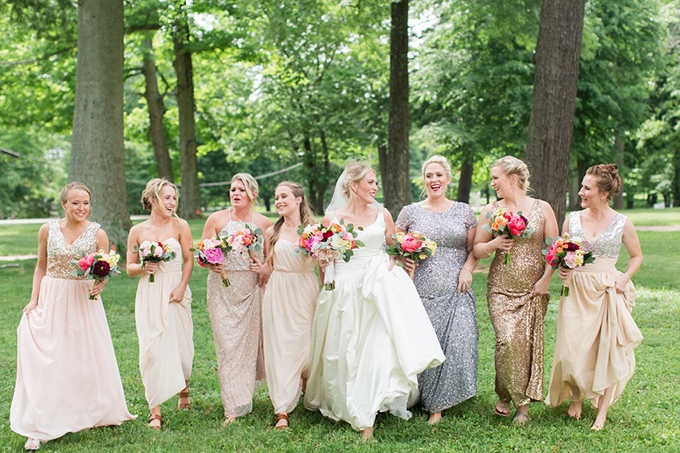 colorful whimsical wedding | Samantha Laffoon Photography | Glamour & Grace